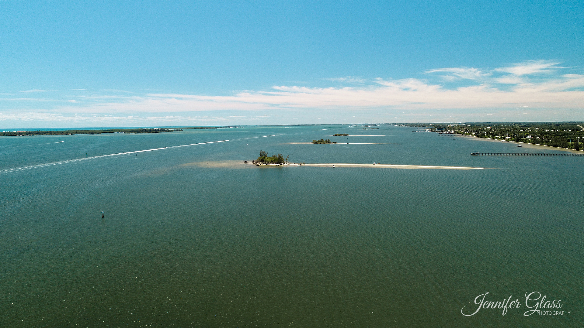 Indian River Islands Aerial Photo
