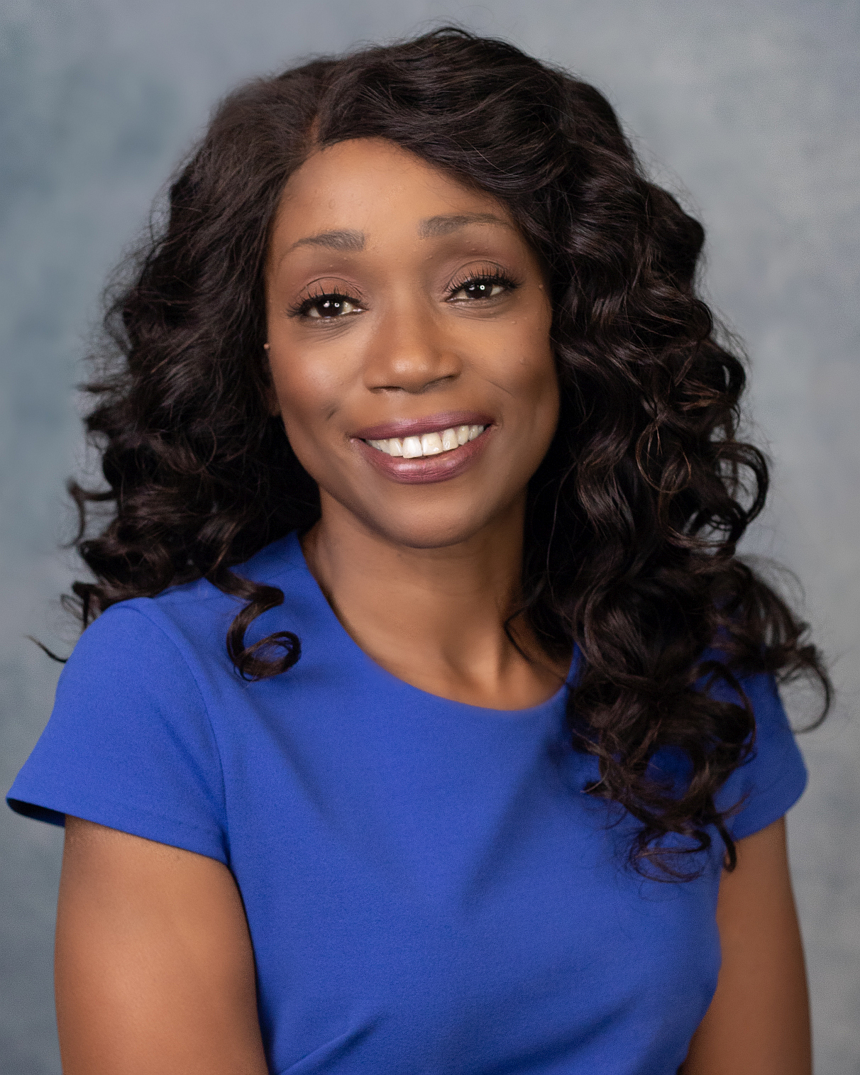 Beautiful black woman business headshot